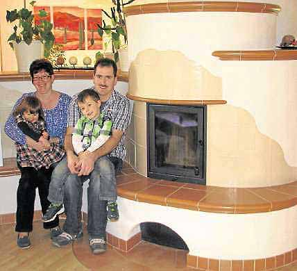Familie Daubert - Kachelofenbau